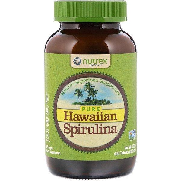 Buy Nutrex Hawaii, Pure Hawaiian Spirulina, 500 mg, 400 Tablets Singapore