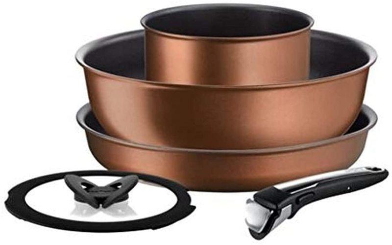 Tefal Ingenio Resource 5 piece Detachable Removeable Handle Frying Fry Pan Skillet Saucepan Set Singapore