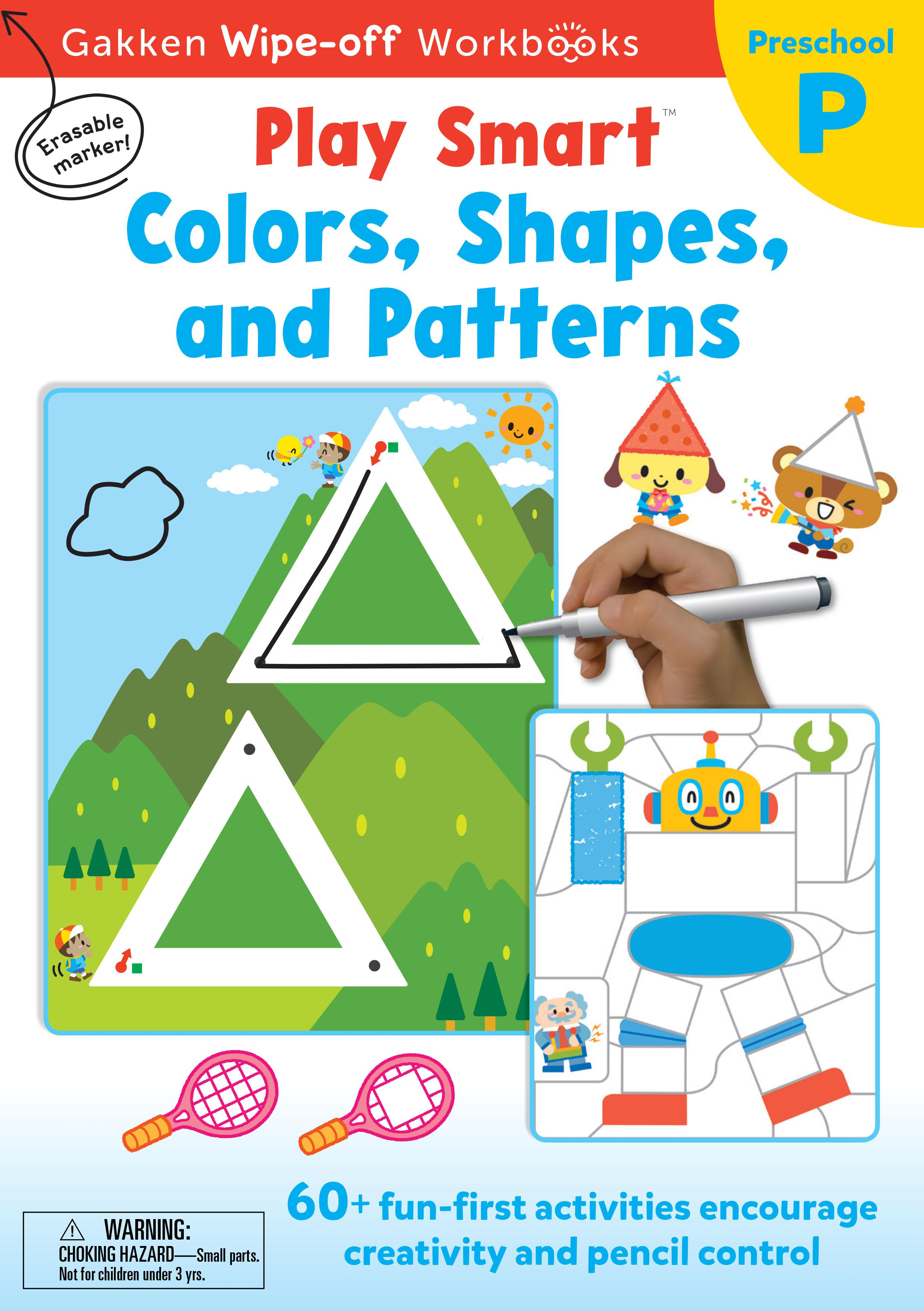 PlaySmart : Wipe&Off Colors, Shapes, and Patterns