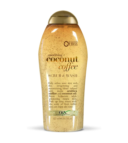 Buy OGX Soothing + Coconut Coffee Scrub & Body Wash, 19.5 Ounce (Product of USA) Singapore