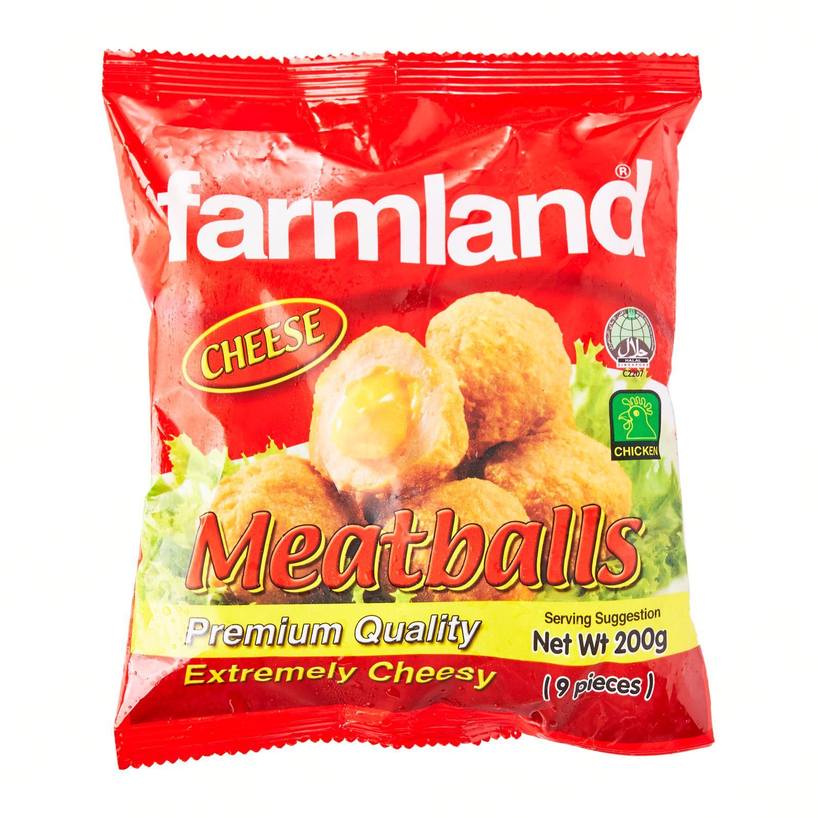Farmland Cheese Chicken Meatballs - Frozen