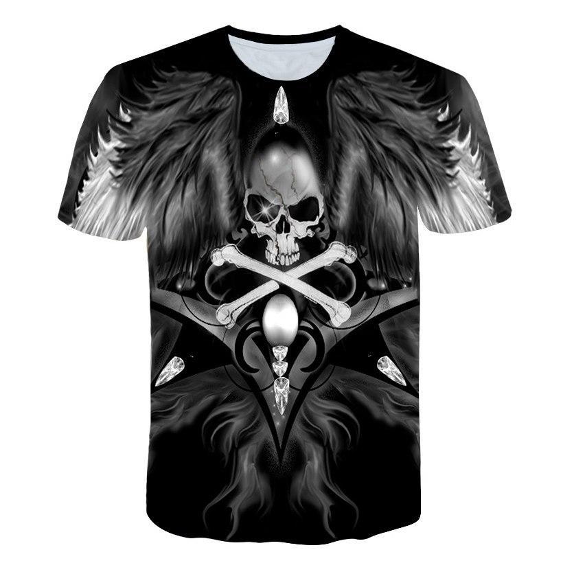 White Animal Classico T-Shirt Mens T-Shirts