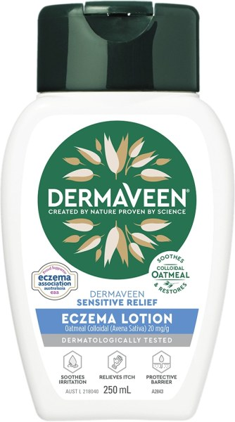 Buy DermaVeen Sensitive Relief Eczema Lotion 250ml Expiry Feb 2023 Singapore