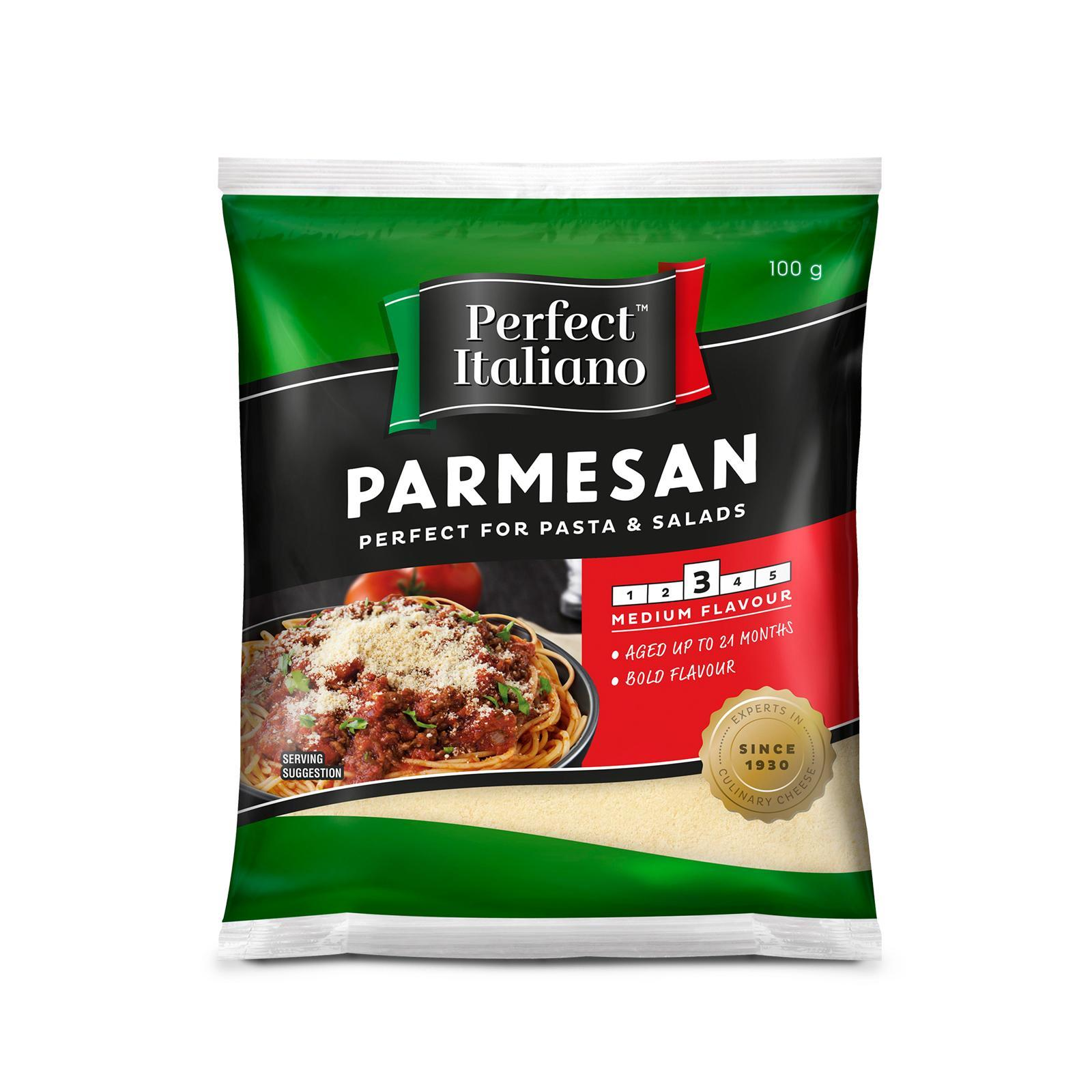 Perfect Italiano Parmesan Grated 100G