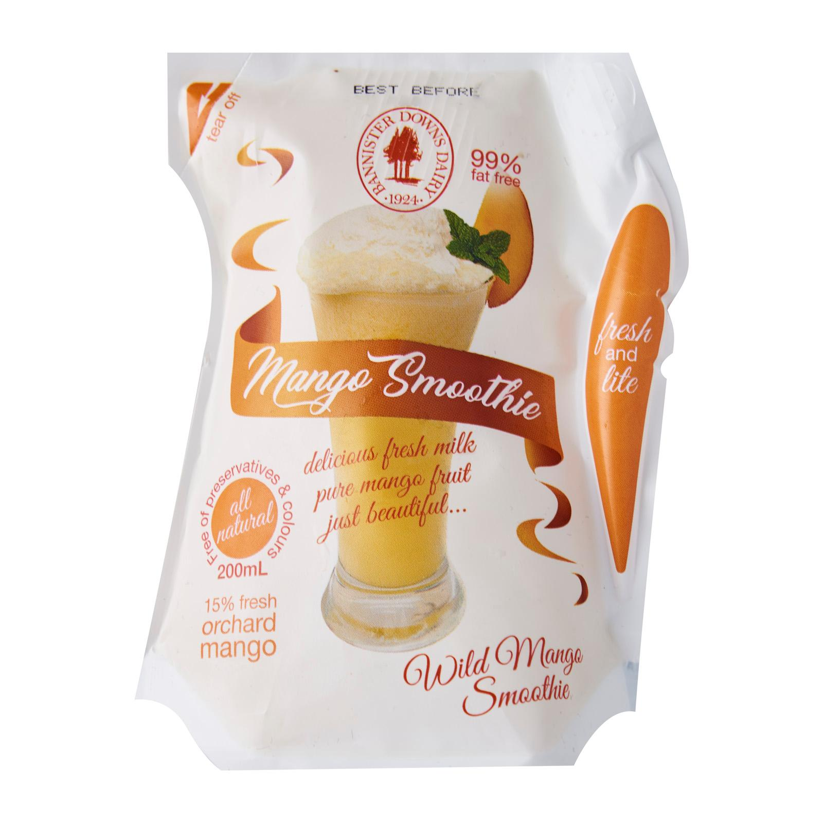Bannister Downs Mango Fresh Milk Smoothie - Australia - 200mL