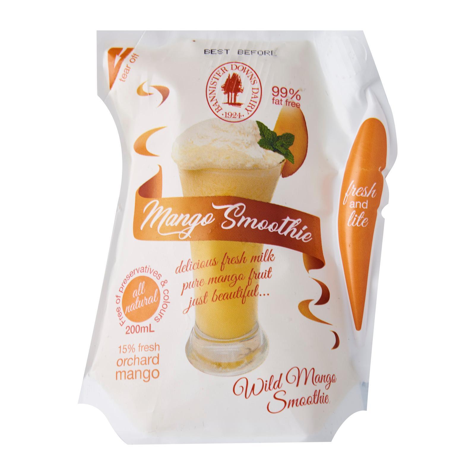 Bannister Downs Mango Fresh Milk Smoothie - Australia - 200mL