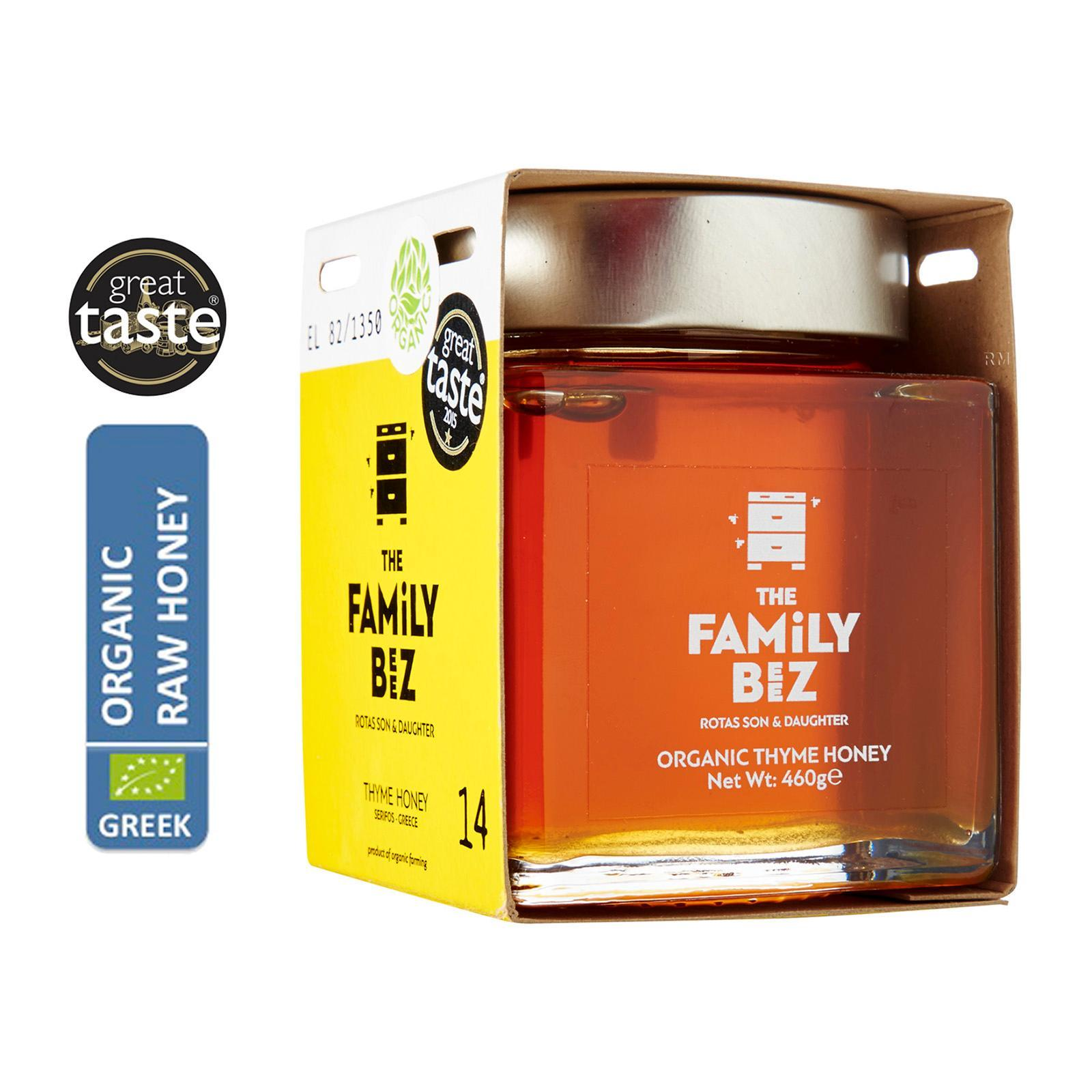 The Family Beez Organic Greek Thyme Honey - By Agora Products