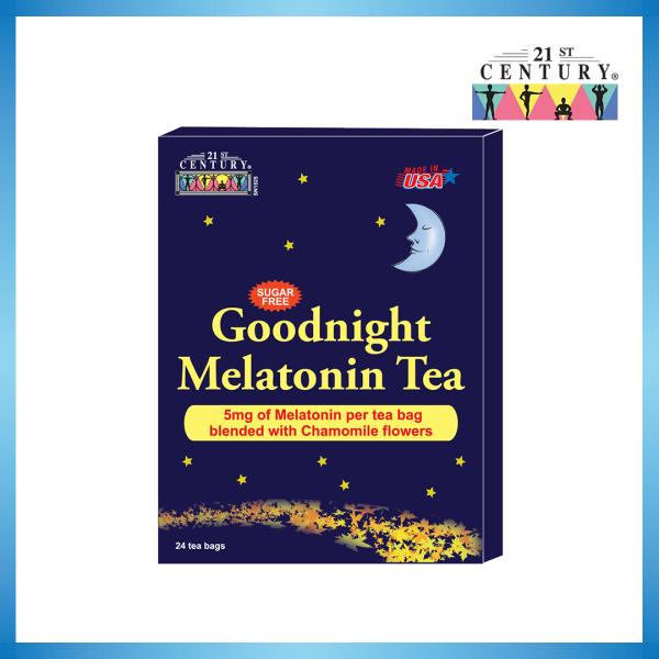 Buy 21st Century Goodnight Melatonin Tea 5mg with Chamomile 24s Singapore