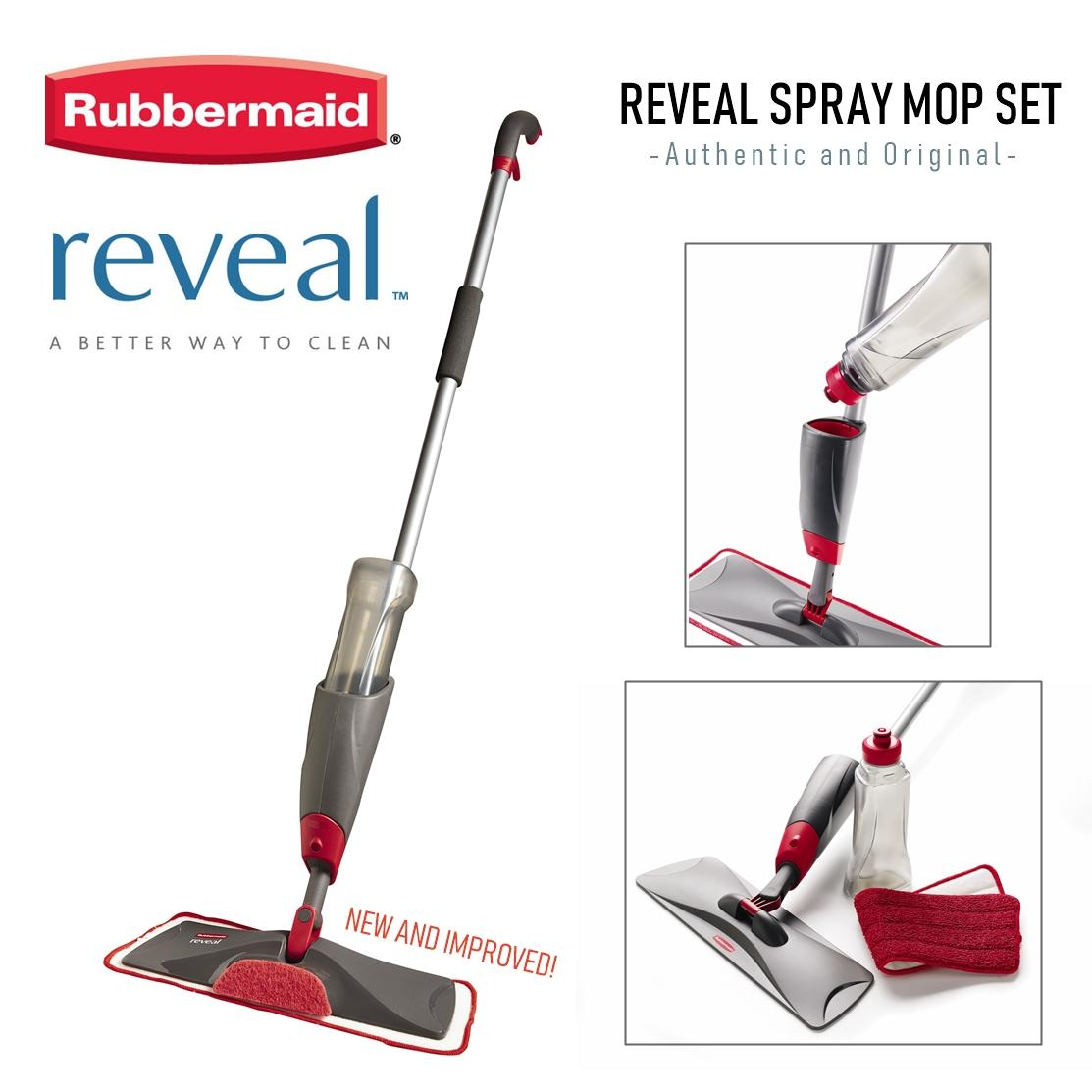 Rubbermaid Reveal Microfibre Spray Mop By The Home Shoppe.