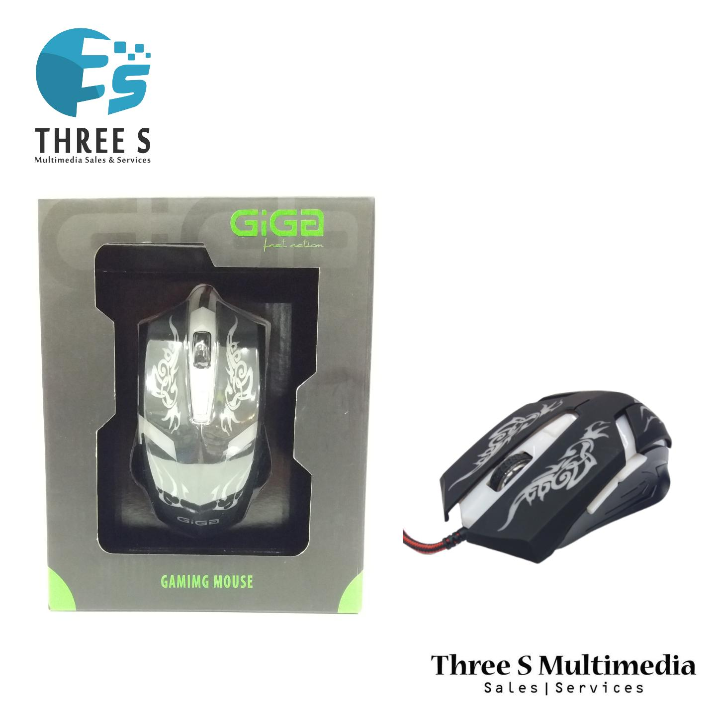 DMX GIGA GAMING MOUSE / GAMING MICE  LIMITED EDITION
