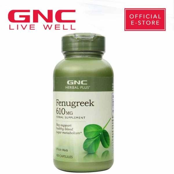 Buy GNC Herbal Plus® Whole Herb Fenugreek (100 capsules) Singapore