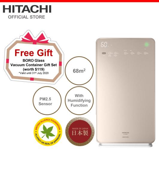 Made In Japan, Hitachi Air Purifier & Humidifier w/ Skin Moisturizing, PM2.5 Sensor, 68 metre square, EP-A9000 Singapore