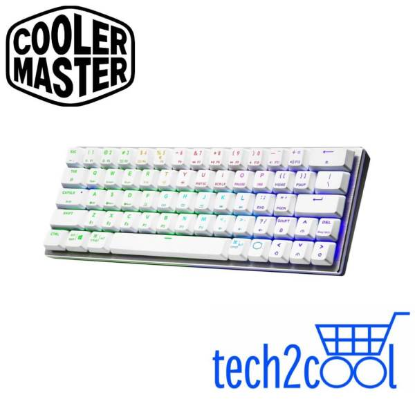 Cooler Master SK622 Silver White 60% Wireless Mechanical Gaming Keyboard Singapore