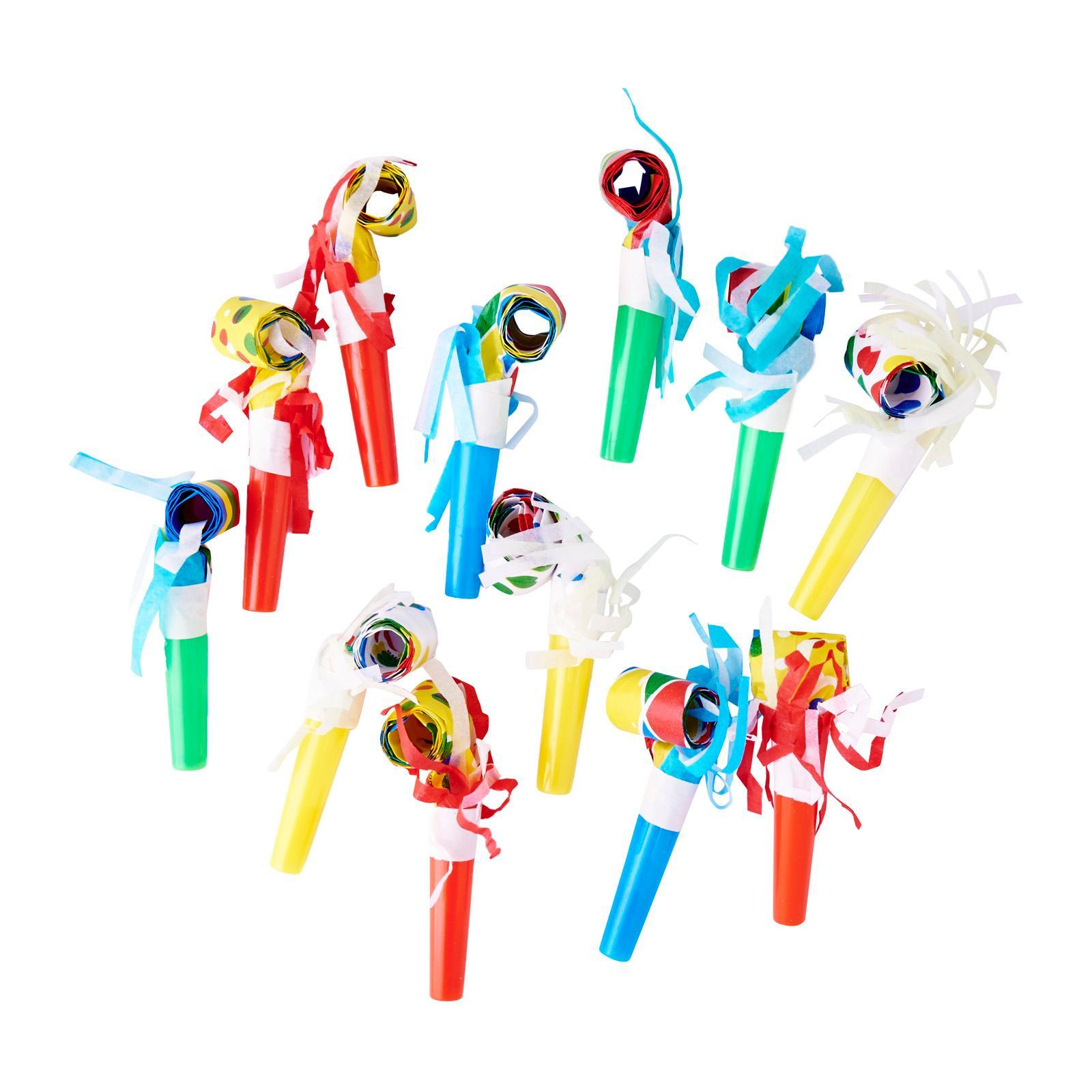 Fun Express Party Blowout With Fringe 12 Pack