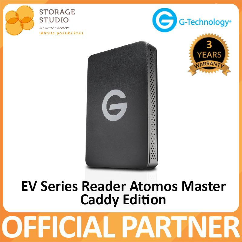 G-TECHNOLOGY EV Series Reader Atomos Master Caddy Edition . 3 Years Local Warranty ** G-TECHNOLOGY Official Partner**