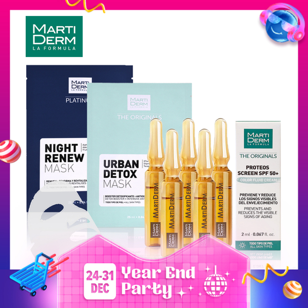 Buy Martiderm Skincare Sample Set Kit Singapore