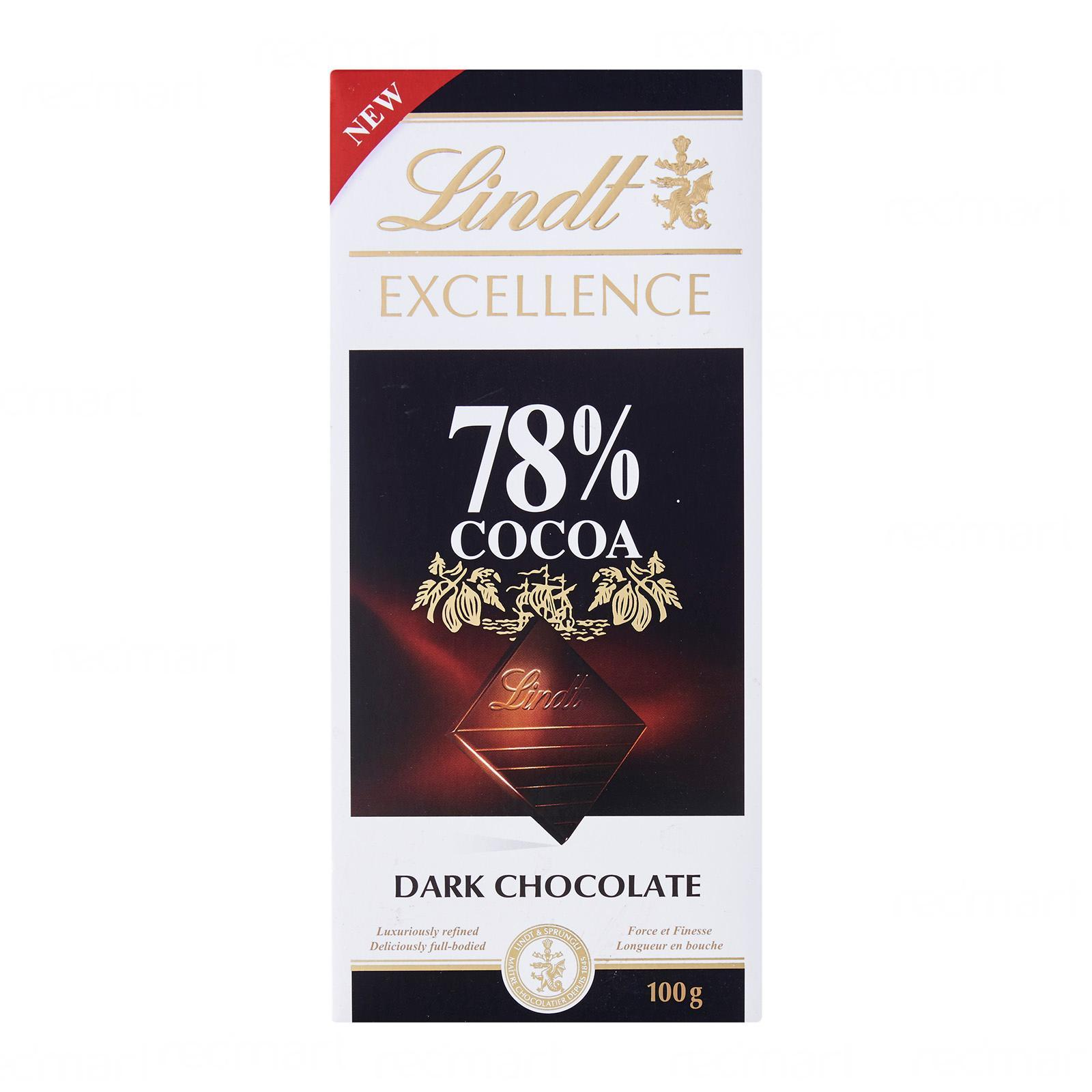LINDT Excellence 78% Dark Chocolate 100g