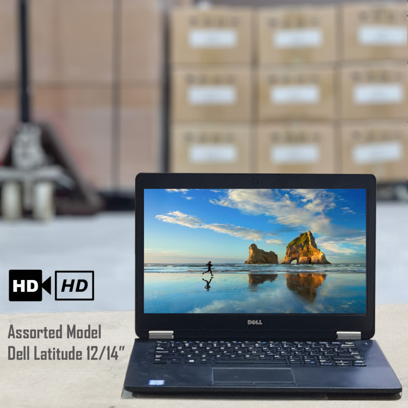 Laptops Dell Latitude series (Assorted models 12.50inch/14.0inch Display)