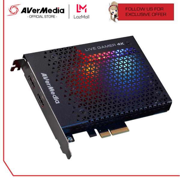 AVerMedia Live Gamer 4K | GC573 - Internal PCIe x4 4K HDR Capture Card