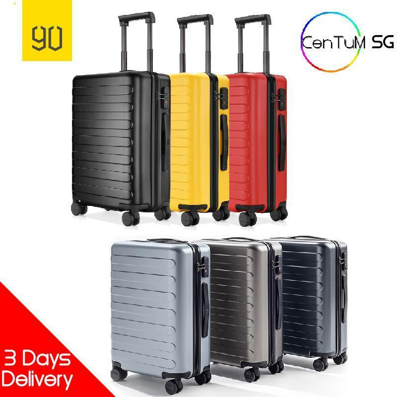 Xiaomi 90 Fun 20 inch Seven Bar Cabin Size Luggage Suitcase TSA Lock Professional Smart Red Black Gun Grey Silver Blue [Delivery Within 3 Days]
