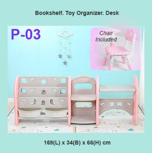 Kids Study Table Toy Organizer and Bookshelf (SG Seller)