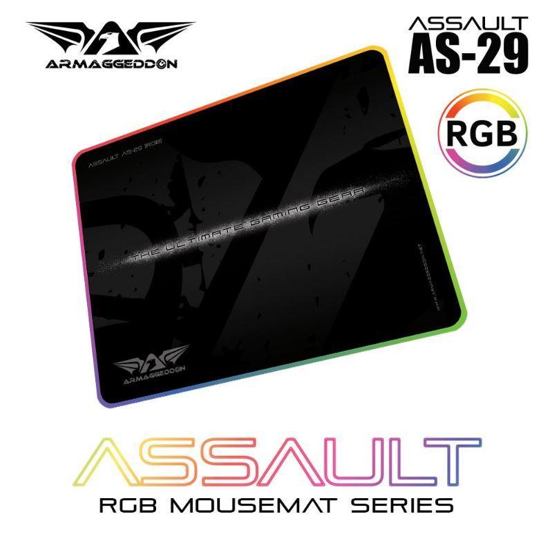 [Online Exclusive] Armaggedddon MKA-2C Psychraven Mechanical Gaming Keyboard Free RGB Mousemat Singapore