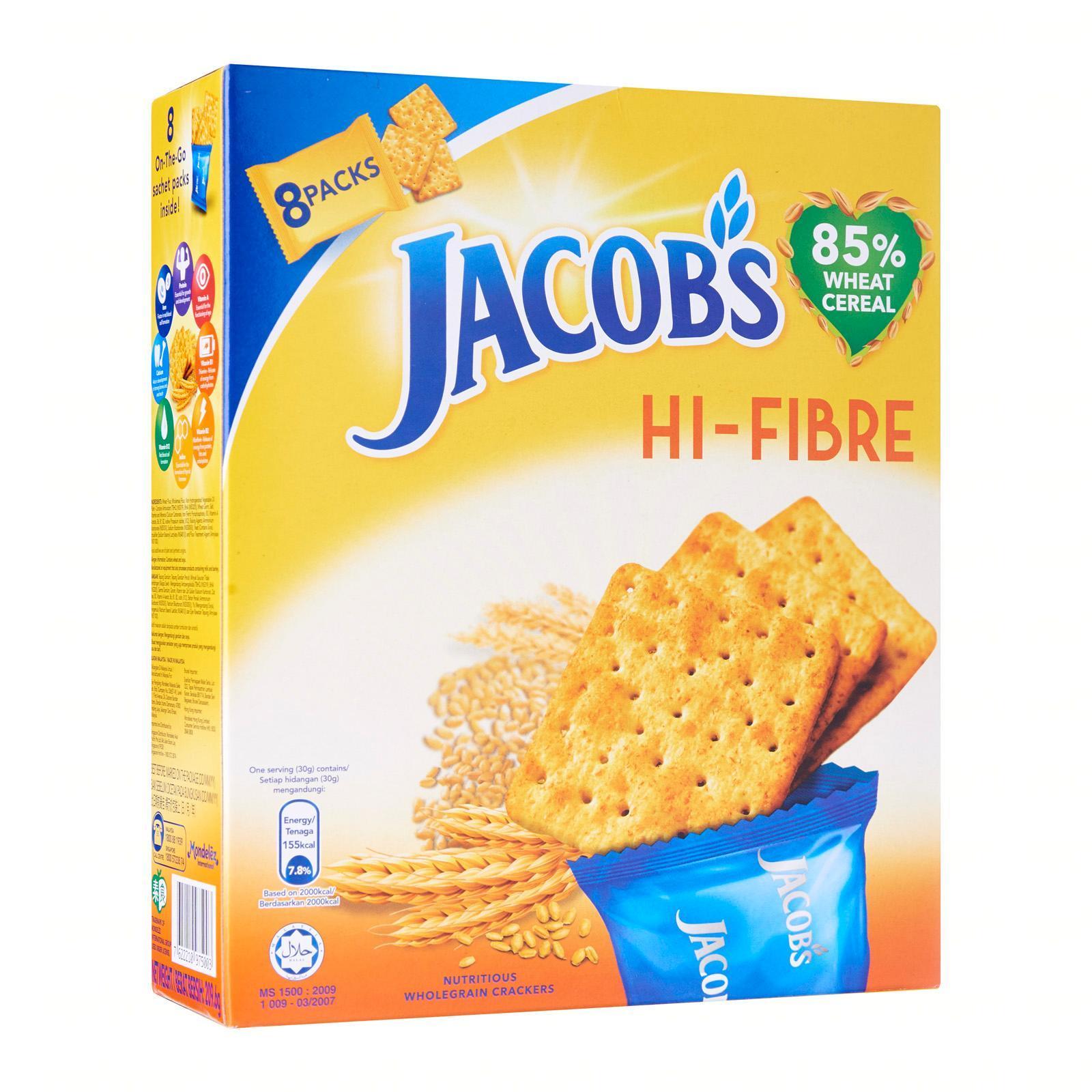 Jacob's Hi-Fibre Wheat Cracker