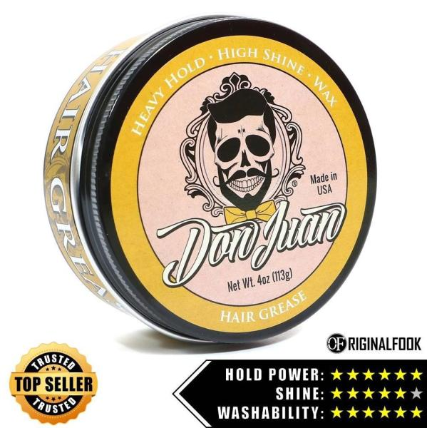 Buy Don Juan Hair Grease Pomade 4oz - ORIGINALFOOK Singapore