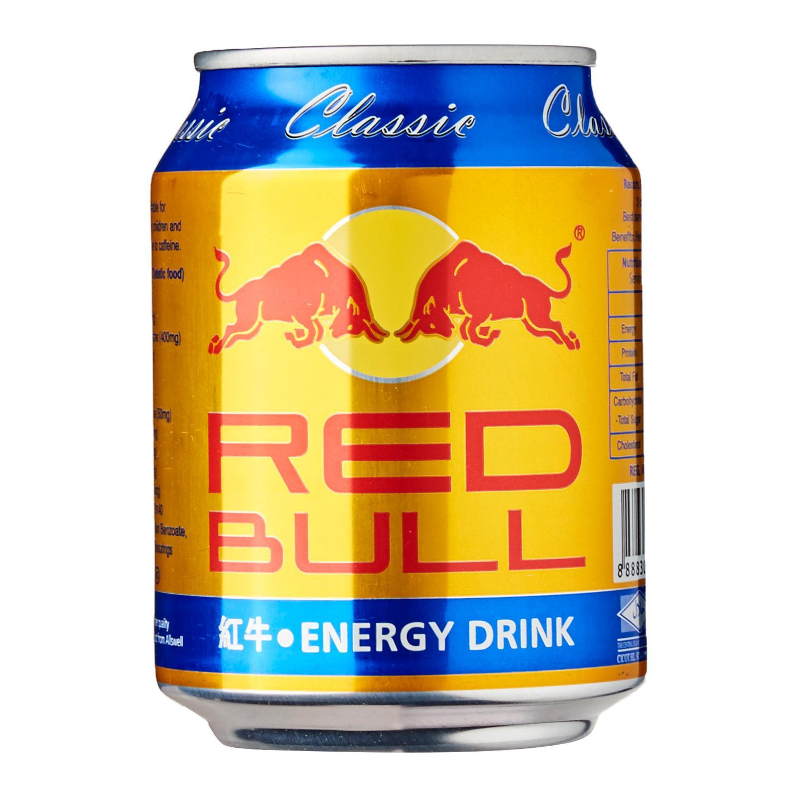Red Bull Classic Energy Drink - Case - By Three Kraters