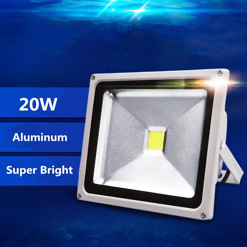 20W LED Floodlight Ip65 Waterproof of Flood Lights Outdoor AC220V Spotlight LED Spotlight Reflector