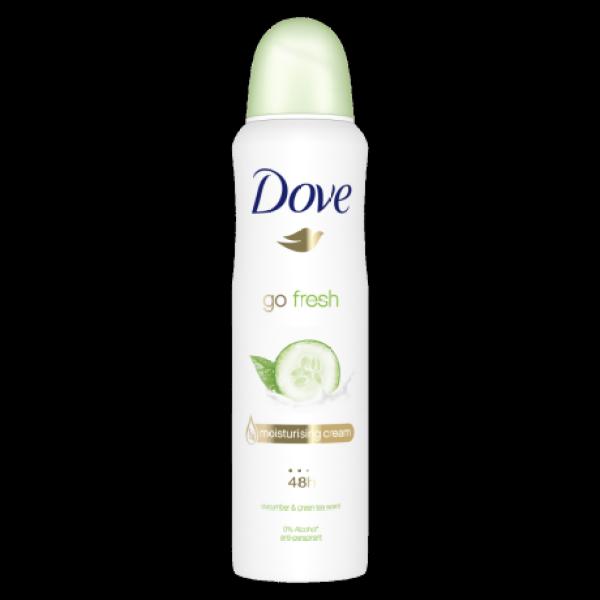 Buy (BUNDLE OF 3) Dove Go Fresh Cucumber & Green Tea 48HR Deodorant Spray, 150ml Singapore