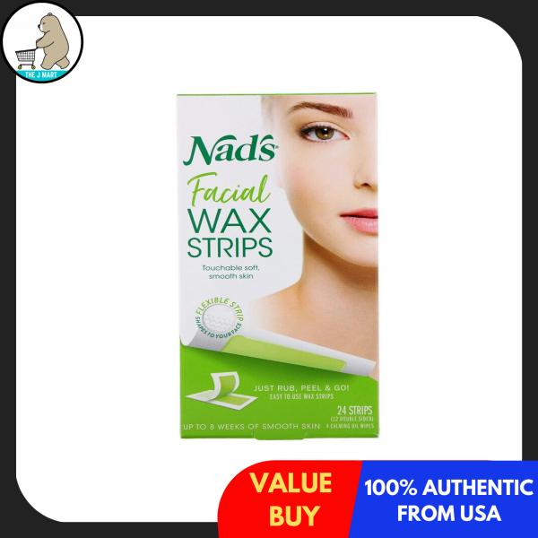 Buy Nads, Facial Wax Strips, 24 Strips Singapore