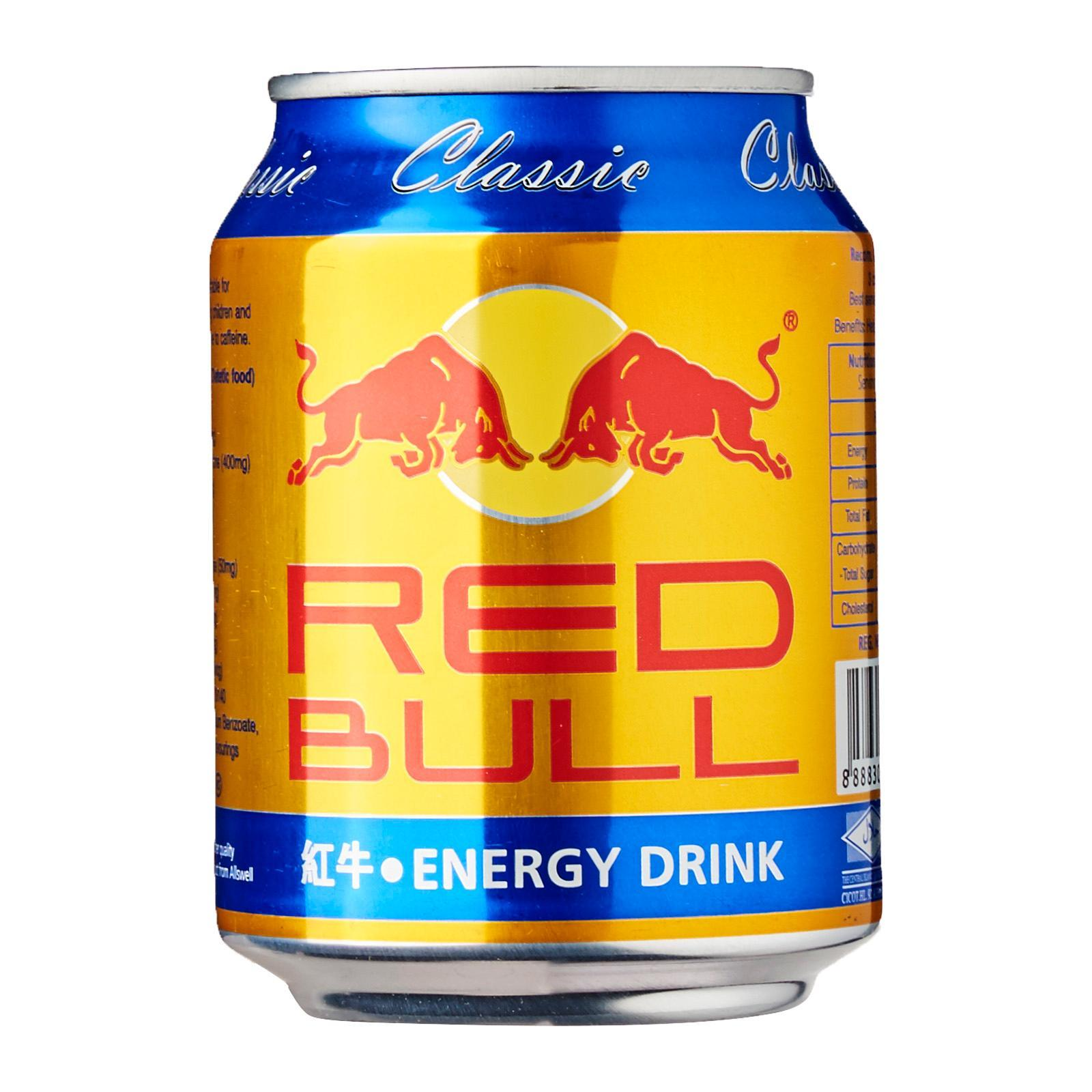 Red Bull Classic Energy Drink - By Three Kraters