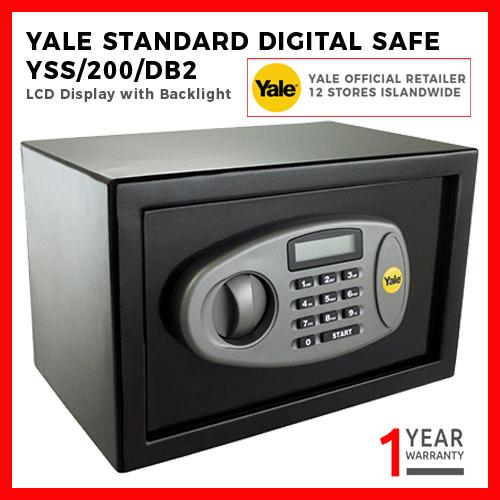 Yale Standard Safe - Small Size YSS/200/DB2 Safebox