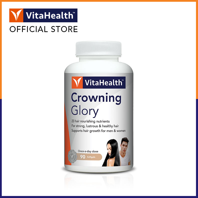 Buy [Vitahealth Official E-Store] VITAHEALTH Crowning Glory 90s Singapore