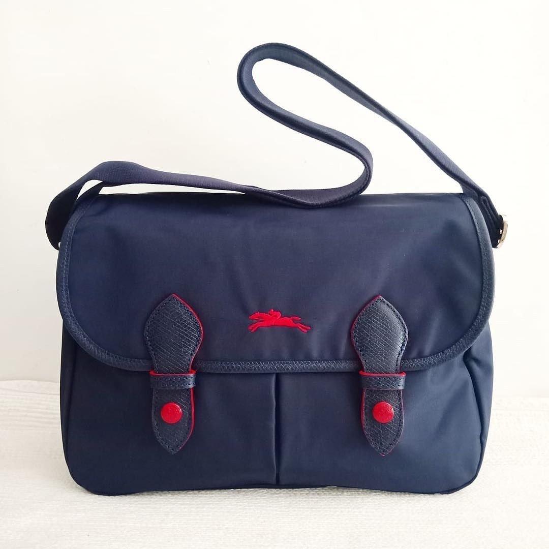Longchamp Le Pliage Club Messenger Bag (70th Anniversary Edition)