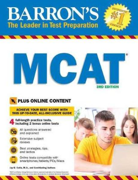 MCAT with Online Tests PB (9781438077925)