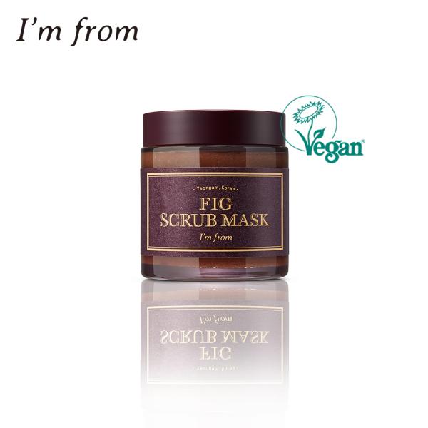 Buy [IM FROM] Fig Scrub Mask 120gr   Official   Scrub   Skincare   Koreaskincare   Beauty   Cleanser   Face   Facial Scrub Singapore