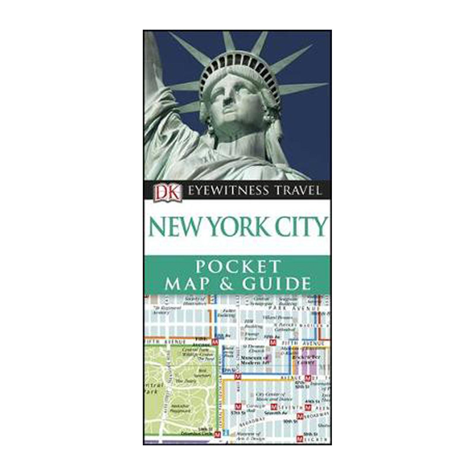 New York City Pocket Map And Guide (Paperback)