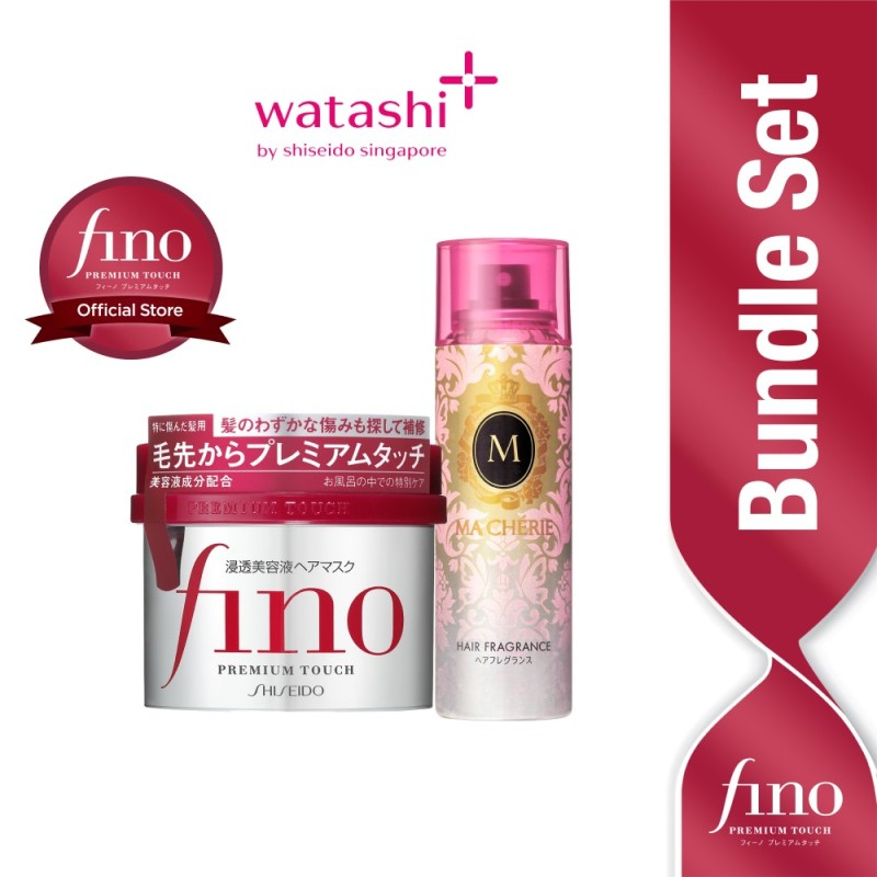 Buy [Exclusive Bundle] Ma Cherie Hair Fragrance + Fino Mask Singapore