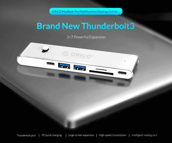 Orico MacBook Pro Multifunction Docking Station (XC309)