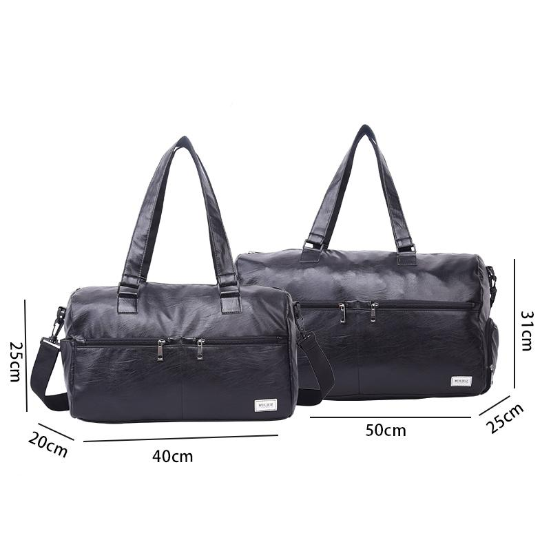 Mens Leather Tote Bag Casual & Bussiness Messenger Bag