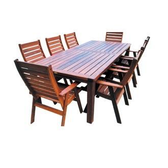 Sheldon Kimberley Jarrah Solid Timber Outdoor Dining Table