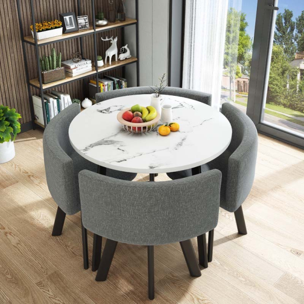 Dining table with chairs/Meeting table