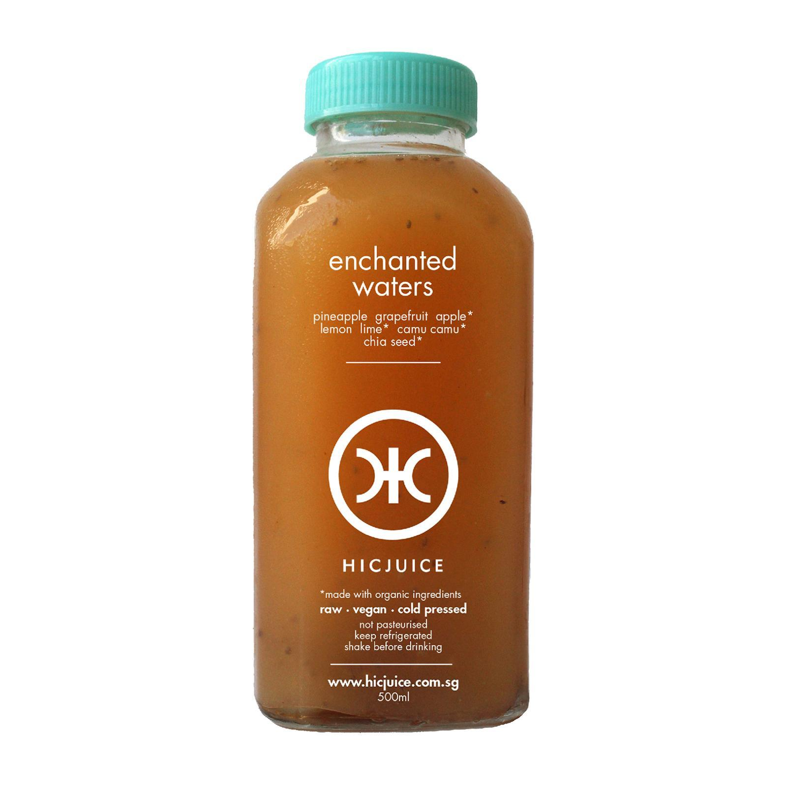 HICJUICE Enchanted Waters Cold Pressed Juice
