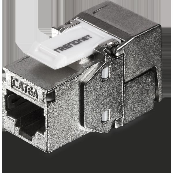 TRENDNET Shielded Cat6A Keystone Jack – 6 pcs / Pack