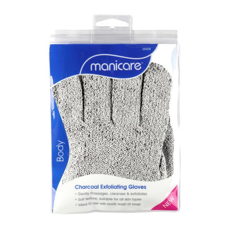 Buy Manicare Charcoal Detox Exfoliating Gloves Singapore