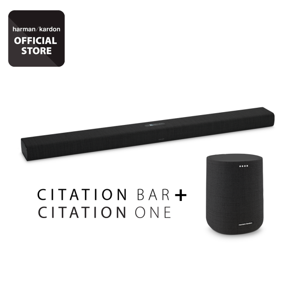 Harman Kardon Citation Bar home smart soundbar + Citation one Bundle Singapore