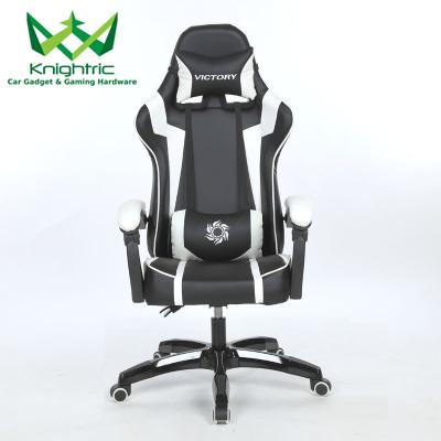 Knighric Gaming Chair Office Racing Chair - Victory Series Racing Style (Free Installation) With No Leg Rest
