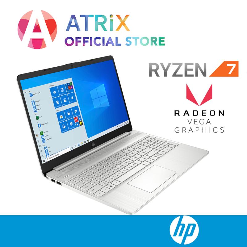 【Same Day Delivery】2020 HP notebook 15s 15s-eq0142AU   15.6inch FHD   AMD Ryzen 7 -3700U   Backlit Keyboard   8GB DDR4 RAM   512GB PCIe SSD   Radeon VEGA10 Graphics   Win10 Home   1Y HP onsite warranty